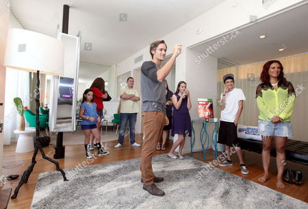 Alex Heartman plays a game at the Xbox 360 and Children's Miracle Network Gaming and Giving for Good (G3) Miracle Lounge on in West Hollywood, Calif