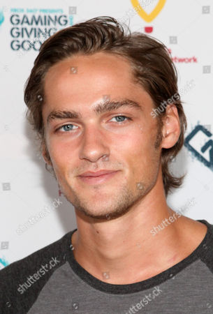 Alex Heartman poses for a photo at the Xbox 360 and Children's Miracle Network Gaming and Giving for Good (G3) Miracle Lounge on in West Hollywood, Calif