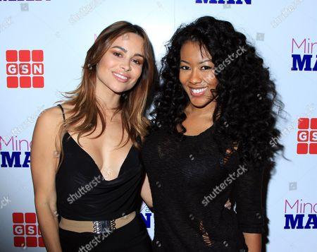 """Actors Zulay Henao and Denyce Lawton seen at GSN """"Mind of a Man"""" Premiere Launch Party, on in West Hollywood. California"""