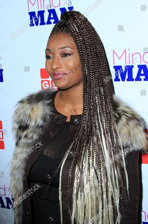 """TV personality Toccara Jones seen at GSN """"Mind of a Man"""" Premiere Launch Party, on in West Hollywood. California"""