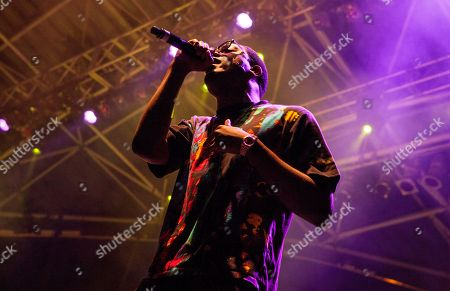 Chidera Anamege of Chiddy Bang performs at the Harley-Davidson 110th Anniversary celebration, on in Milwaukee, WI