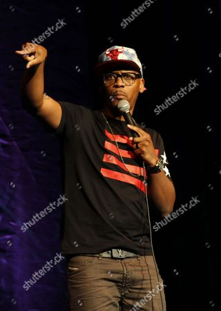 Comedian Lavar Walker performs at HartBeat Weekend Comedy All All-Stars Show Hosted by Kevin Hart on at Circus Maximus Theatre at Ceasars Hotel & Casino in Atlantic City, New Jersey