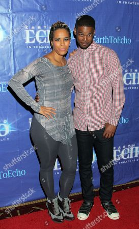 """Editorial image of Holly Robinson Peete's Screening of Relativity's """"Earth To Echo"""" Benefiting the HollyRod Foundation, Los Angeles, USA"""