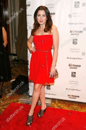 Stock Picture of Actress Patrizia Cavaliere attends the 22nd Annual Gotham Independent Film Awards, at Cipriani Wall Street on in New York