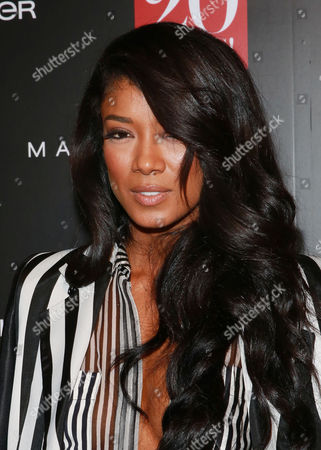 Mila J attends InStyle Magazine's 20th Anniversary Party at Diamond Horseshoe at the Paramount Hotel, in New York