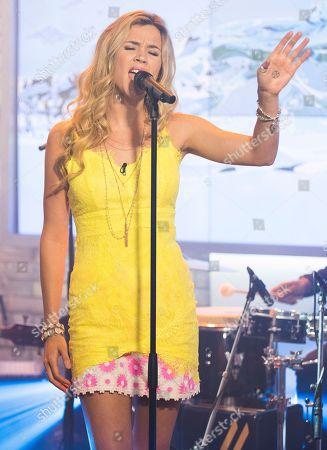 "Singer/Songwriter Joss Stone seen on CTV's ""The Marilyn Denis Show"", in Toronto, Canada"