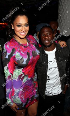 Kevin Hart and Alani Vazquez Anthony at Kevin Hart's 1st Annual New Year's Eve 3 Day Block Party Celebrity Kick Off on Saturday, December, 29, 2012, at the Conga Room in Los Angeles, California