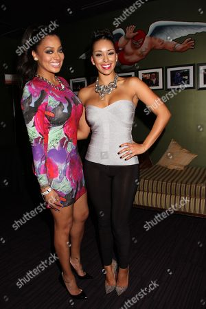 Stock Photo of Alani Vazquez Anthony and Gloria Govan at Kevin Hart's 1st Annual New Year's Eve 3 Day Block Party Celebrity Kick Off on Saturday, December, 29, 2012, at the Conga Room in Los Angeles, California