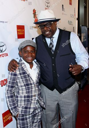 Cedric Antonio Kyles (Cedric the Entertainer) Actor, Comedian, Host Cedric the Entertainer and his son Croix Kyles arrive at LA Focus 15th Annual First Ladies High Tea at Beverly Hilton Hotel, in Bevrly Hills, California