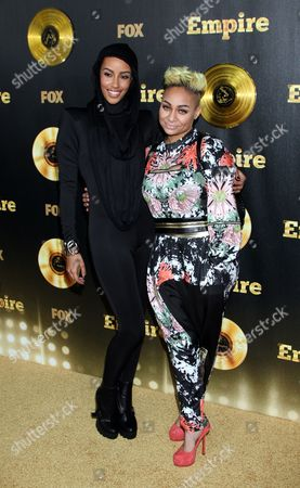 """Actors and Azmarie Livingston and Raven Symone seen at LA Premiere Of """"Empire"""" at Arclight Cinema Dome, in Hollywood, California"""