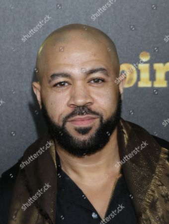 """Jim Beanz seen at LA Premiere Of """"Empire"""" at Arclight Cinema Dome, in Hollywood, California"""