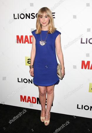 "Stephanie Drake seen at LA Premiere of ""Mad Men"" Season 7 on in Los Angeles, California"