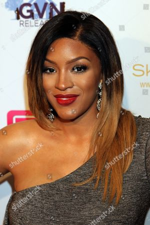 "Actress Drew Sidora seen at LA Premiere of ""Sister Code"" at Universal Theaters AMC, in Universal City, California"