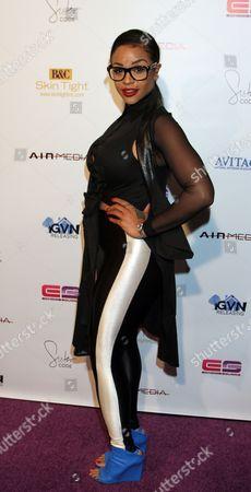 "Masika Kalysha seen at LA Premiere of ""Sister Code"" at Universal Theaters AMC, in Universal City, California"