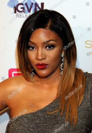 "Stock Image of Actress Drew Sidora seen at LA Premiere of ""Sister Code"" at Universal Theaters AMC, in Universal City, California"