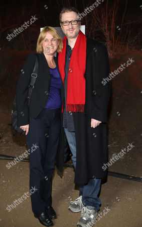 """Stock Image of Sarah Condon and James Gray arrive at LA Premiere Screening of """"The Red Road"""" on in Los Angeles, Calif"""
