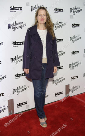 "Kristin Gore arrives at LA Special Screening Of ""Mistaken For Strangers"" at the Shrine Auditorium on in Los Angeles"