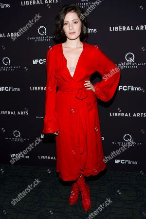 "Aleska Palladino attends the ""Liberal Arts"" premiere in New York on"