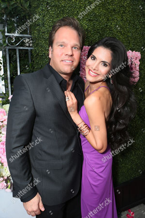 Michael Ohoven and Joyce Giraud at the launch of PUMP Lounge in West Hollywood on in West Hollywood, CA