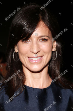 Perry Reeves is seen at MBFW Spring/Summer 2015 Monique Lhuillier fashion show at Lincoln Center on in New York