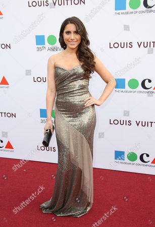 Caren Brooks arrives at MOCA's 35th Anniversary Gala presented by Louis Vuitton at The Geffen Contemporary at MOCA on in Los Angeles