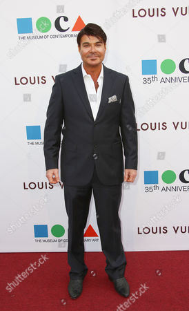 Eric Schiffer arrives at MOCA's 35th Anniversary Gala presented by Louis Vuitton at The Geffen Contemporary at MOCA on in Los Angeles