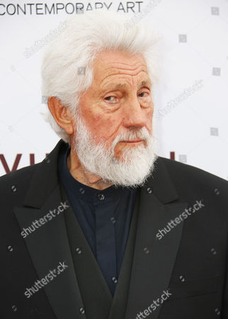 Ed Moses arrives at MOCA's 35th Anniversary Gala presented by Louis Vuitton at The Geffen Contemporary at MOCA on in Los Angeles