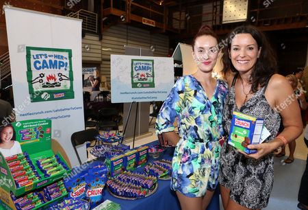 Editorial image of Nestle Crunch Girl Scouts - Emmy Gift Suite, Los Angeles, USA