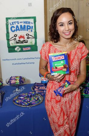 Editorial photo of Nestle Crunch Girl Scouts - Teen Choice Awards, Los Angeles, USA
