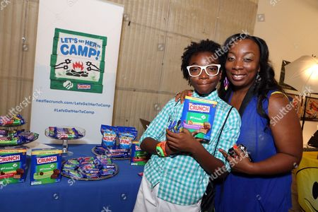 Actor Jaheem Toombs supports the #LetsGetHerToCamp campaign with Nestl? Crunch Girl Scout Candy Bars at a Teen Choice Awards gift suite on in Los Angeles. To help send girls to Girl Scout camp visit NestleCrunch.com/LetsGetHerToCamp by August 31