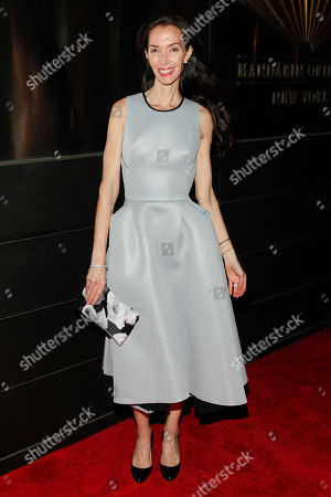 Olivia Chantecaille attends the New Yorkers For Children Spring Dinner Dance at the Mandarin Oriental, in New York