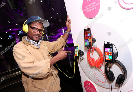 Theo Spielberg of the band Wardell is seen at the Nokia MixRadio Launch Event on in Los Angeles
