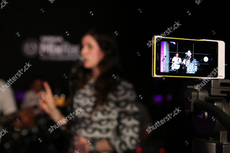 Sasha Spielberg of the band Wardell performs onstage at the Nokia MixRadio Launch Event on in Los Angeles