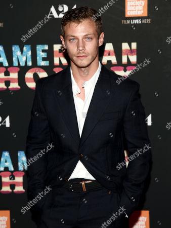 "McCaul Lombardi attends the premiere of ""American Honey"" at the Landmark Sunshine Cinema, in New York"