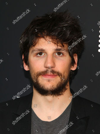 """Felix de Givry attends the premiere of """"Eden"""" at the IFC Center, in New York"""