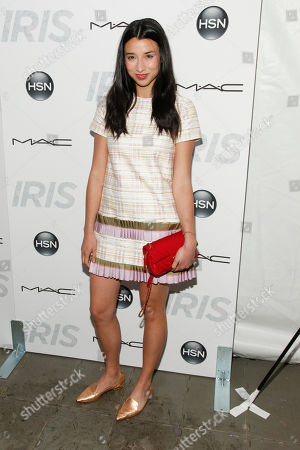 "Lily Kwong attends the premiere of ""Iris"" at the Paris Theatre, in New York"