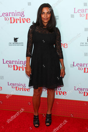 "Stock Picture of Sarita Choudury attends the premiere for ""Learning To Drive"" at The Paris Theatre, in New York"