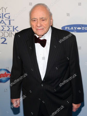 """Michael Constantine attends the premiere of """"My Big Fat Greek Wedding 2"""" at the AMC Loews Lincoln Square, in New York"""