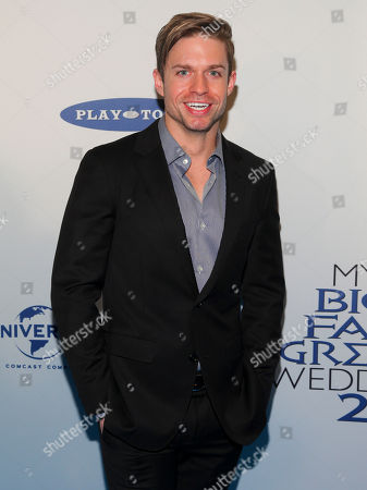 """Hunter Ryan Herdlicka attends the premiere of """"My Big Fat Greek Wedding 2"""" at the AMC Loews Lincoln Square, in New York"""