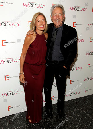 "Rachael Horovitz, left, and Israel Horovitz, right, attend the New York premiere of ""My Old Lady"" on in New York"