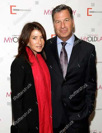 """Editorial photo of NY Premiere of """"My Old Lady"""", New York, USA"""