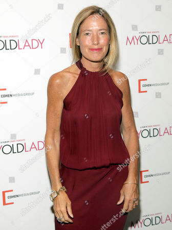 "Rachael Horovitz attends the New York premiere of ""My Old Lady"" on in New York"