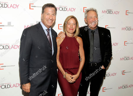 "Gary Foster, Rachael Horovitz, and Israel Horovitz attend the New York premiere of ""My Old Lady"" on in New York"