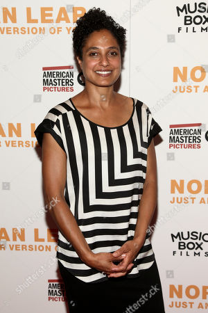 """Stock Photo of Shola Lynch attends the premiere of, """"Norman Lear: Just Another Version of You"""", at the Walter Reade Theater, in New York"""