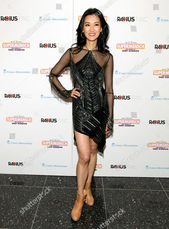 "Television personality Kelly Choi attends a screening of ""Supermensch: The Legend of Shep Gordon"", in New York"