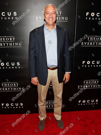 """Michael J. Massimino attends the premiere of """"The Theory Of Everything"""", in New York"""