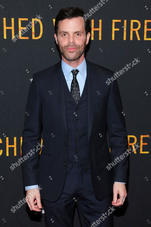 """Alex Manette attends the premiere of """"Touched With Fire"""" at the Walter Reade Theatre, in New York"""