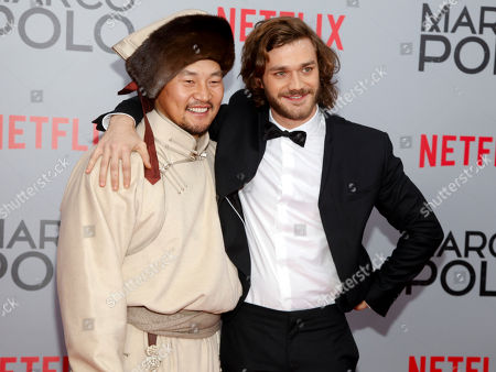 "Editorial photo of NY Premiere of Netflix's ""Marco Polo"", New York, USA"