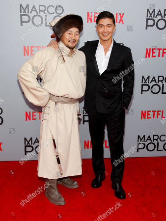 "Editorial image of NY Premiere of Netflix's ""Marco Polo"", New York, USA"