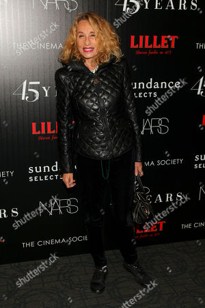 """Ann Dexter-Jones attends a special screening of """"45 Years"""" hosted by The Cinema Society and Sundance Selects at the Landmark Sunshine Cinema, in New York"""